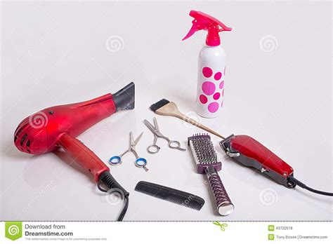 Haircut Tools For by Tools For Haircut Stock Photo Cartoondealer 72303228