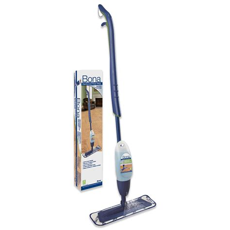 bona spray mop kit wood floors includes microfiber pad and cleaner cartridge