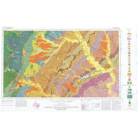 texas geology maps ga0003 sheet the bureau store