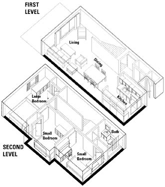 two level floor plans three bedroom two level apartment in row house floor plan