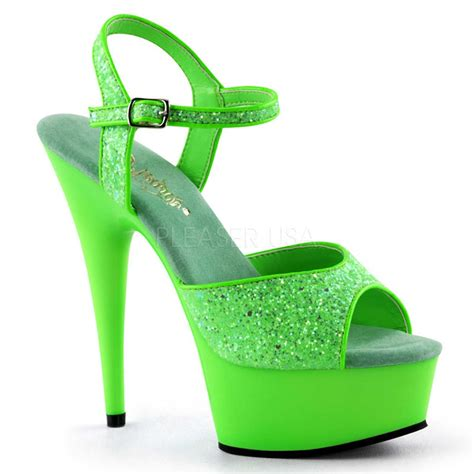 green high heel sandals neon green high heels 2016