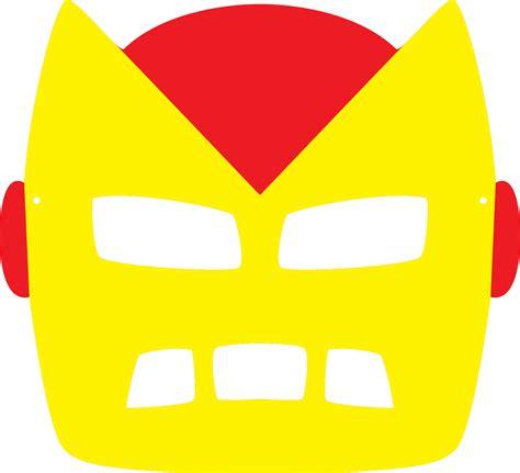printable ironman mask template printable halloween masks