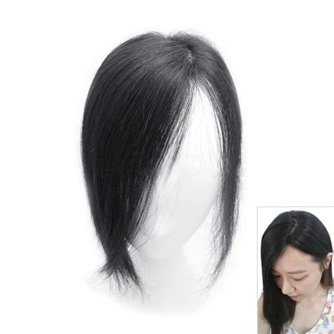 topper hair pieces for 10 quot real human hair top pieces clip in toppers for