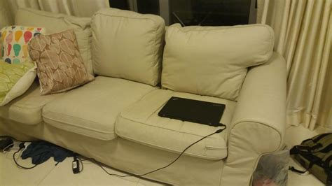 cover sofa with sheets used ikea 3 seater ektorp sofa with brand new cover sheets