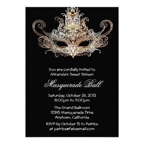 masquerade invitations templates image gallery masquerade invitations