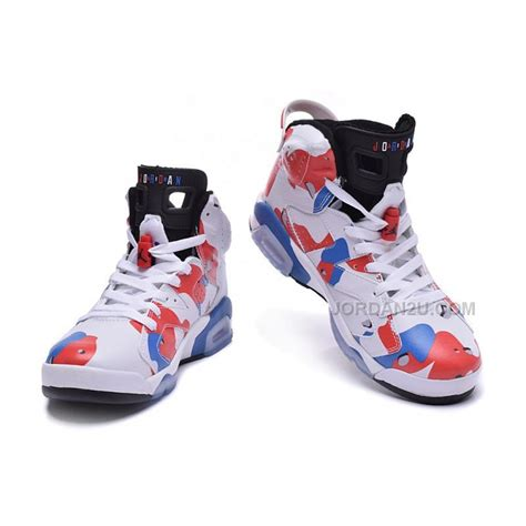 customized basketball shoes sale air 6 retro american heroes custom