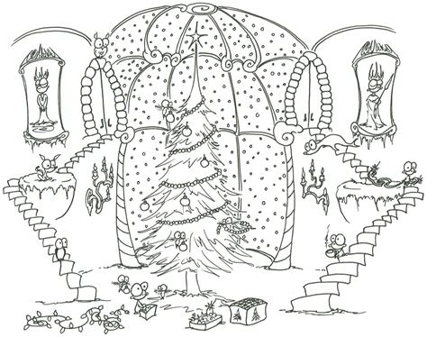 Detailed Coloring Pages For Adults Monkeys Decorating Detailed Tree Coloring Pages