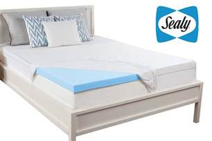 sealy 3 quot california king memory foam mattress topper