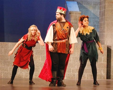 Minstrel Once Upon A Mattress by O Connor As The Minstrel Left Will Davidson As