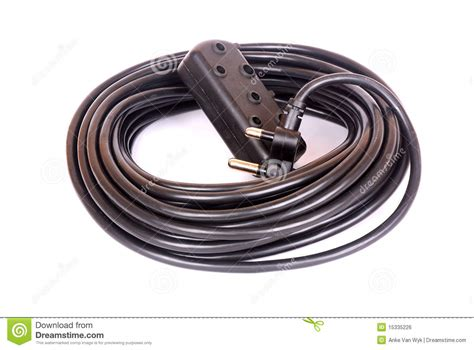 extension cord stock photo image of commercial against