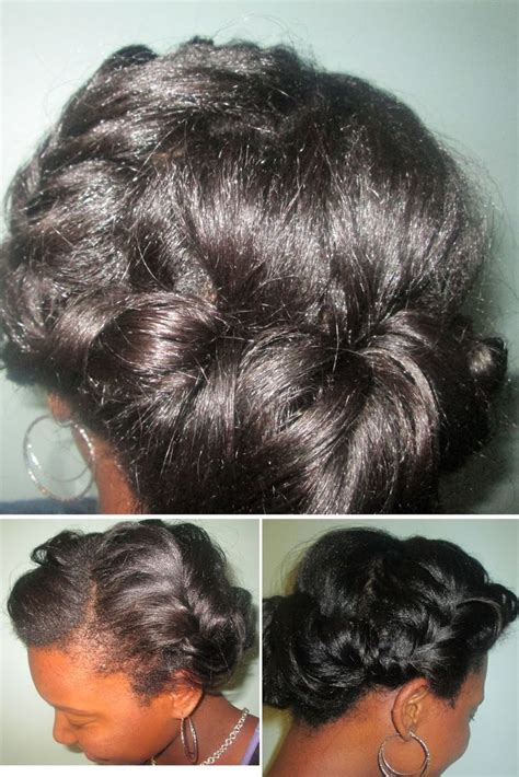 Relaxed Hair Protective Styles For Hair by 17 Best Images About Healthy Relaxed Hair On