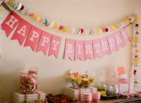 practical birthday room decoration ideas  kids