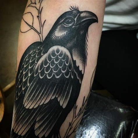 80 amazing raven tattoos that will change your life