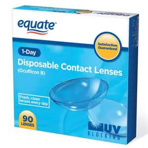 colored contacts at walmart equate 1 day 90 pack contact lenses distributed by walmart