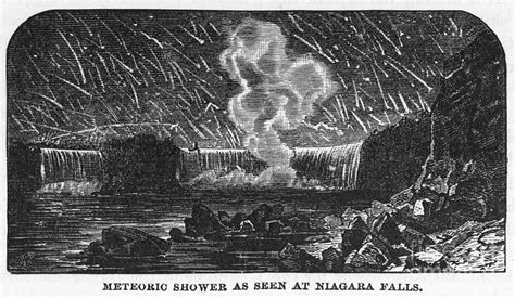 1833 Meteor Shower by Leonid Meteor Shower 1833 Photograph By Granger