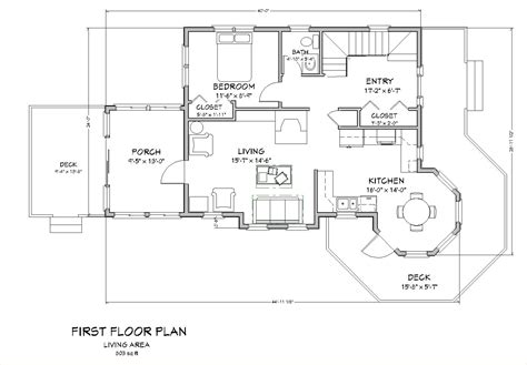cottages floor plans seaside cottage traditional house plan new