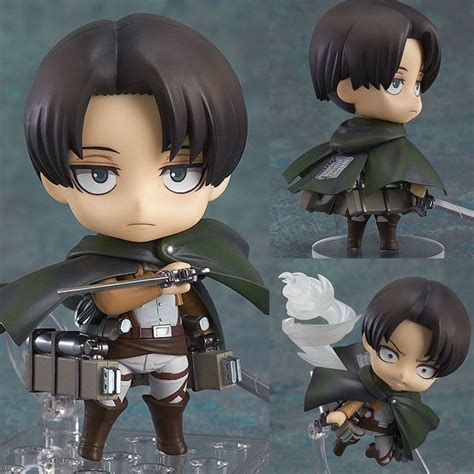 Nendoroid Levi 390 Attack On Titan Bib nendoroid 390 levi attack on titan anime figure smile company ja