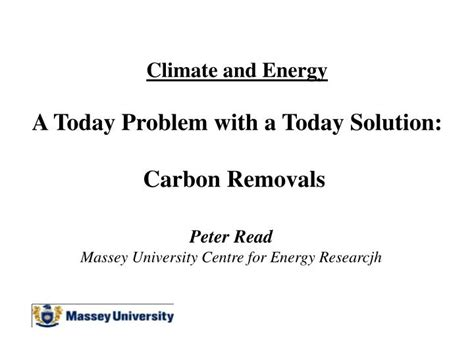today solution ppt climate and energy a today problem with a today