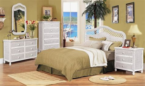 white rattan bedroom furniture wicker bedroom furniture sets best home design 2018