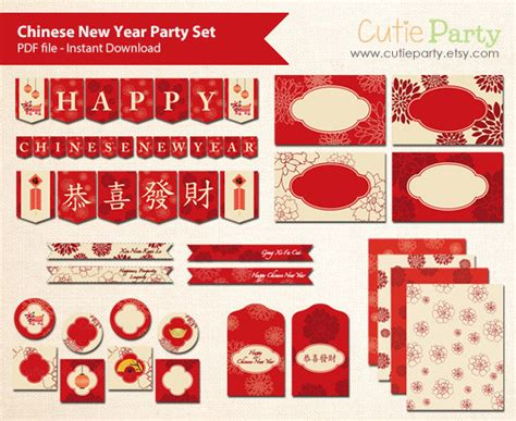 new year name tags new year printable set lunar new year