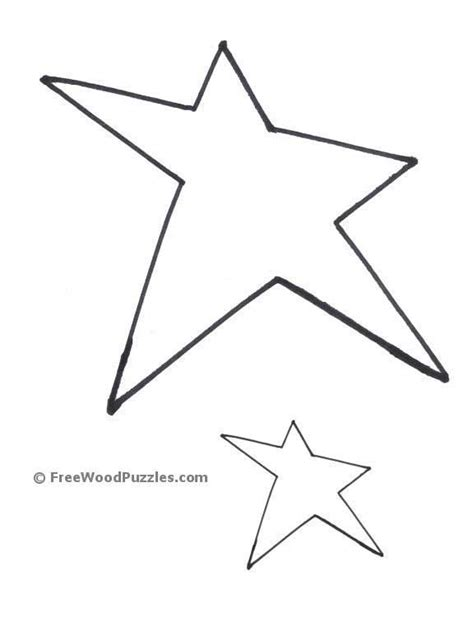 printable star shape cut outs best photos of printable shape patterns printable heart
