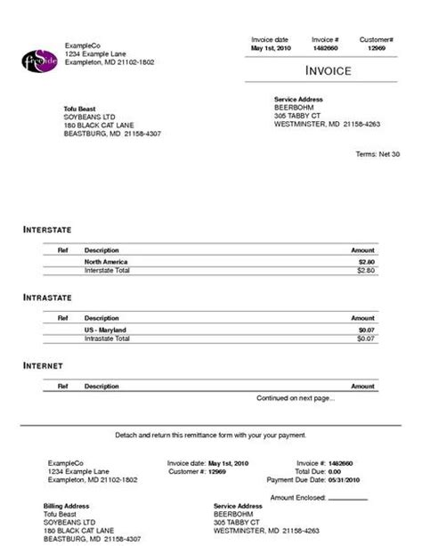 mobile invoice template image gallery invoice phone
