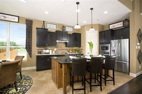 kitchen cabinets austin texas gehan homes kitchen dark black cabinets light brown