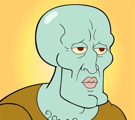 Sexy Face Meme - spongebob meh ro