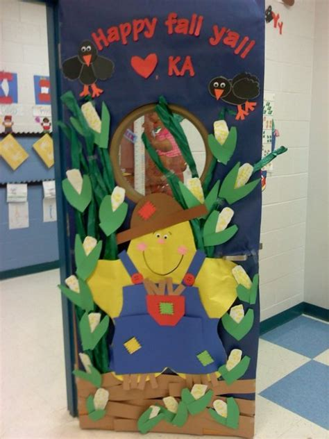 fall door decorations for school 53 classroom door decoration projects for teachers
