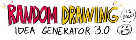 Drawing Idea Generator by Psuedofolio Idea Generator