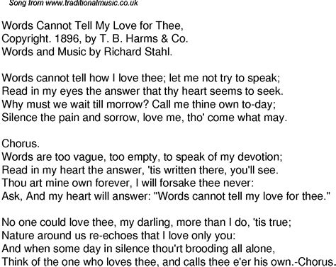 song for my chi words that start with