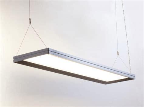 Replace fluorescent light fixture, suspended ceiling light
