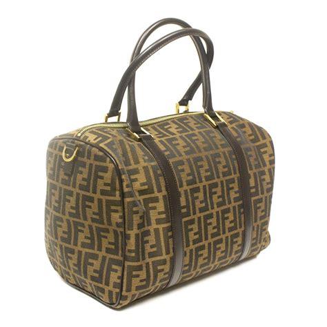 Fendi B Mix Duffle by Fendi Zucca Bauletto Duffle Bag Handbag 8bl113 Handbags