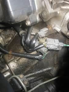 coolant leak from hose distributor cap honda tech
