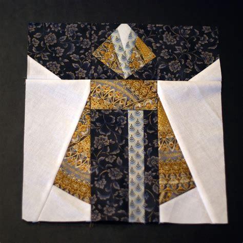 kimono pattern block kimono quilt block two three naomi vandoren