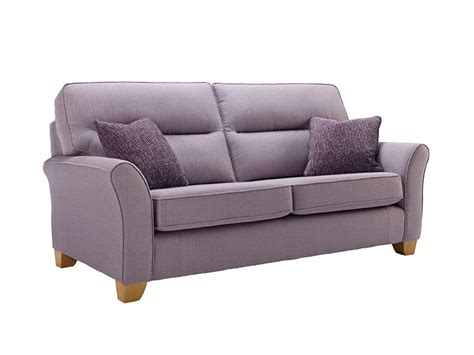 Gemma 3 Seat Fabric Sofa By G Plan Upholstery Furniture