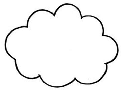 Free Printable Clouds Coloring Pages
