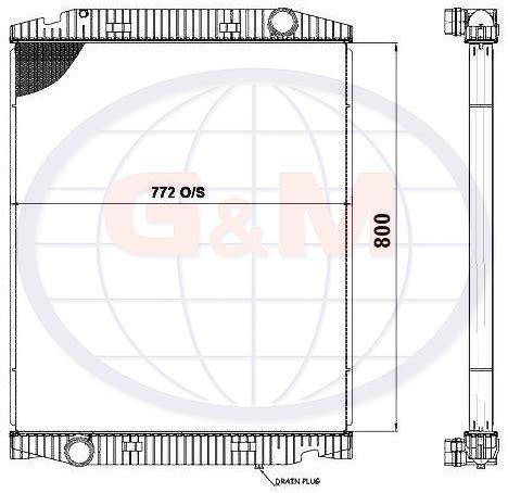 iveco radiator 41218266 41218266 / application details