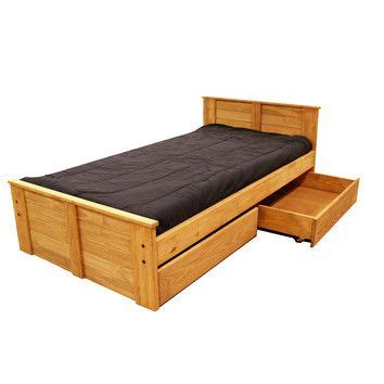 xl twin bed with storage twin panel bed with storage