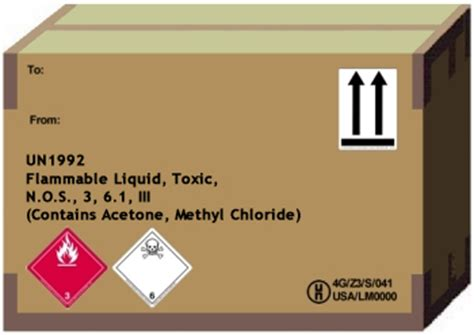 hazmat labels hazmat placards and hazmat markings a guide from labelmaster