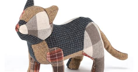 The Patchwork Cat - homebuildlife recycled toys by muji
