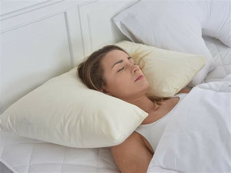 best pillow for back sleepers new orthopaedic supportive neck pillow for side