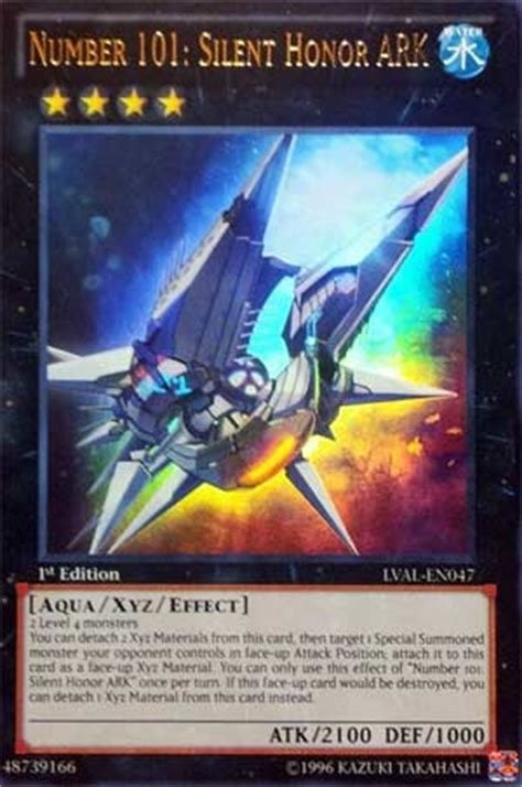 Yugioh Number 101 Silent Honor Ocg pojo s yu gi oh card of the day