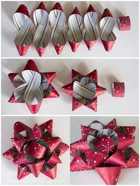 Make A Bow Out Of Paper - best 25 wrapping paper bows ideas on diy gift