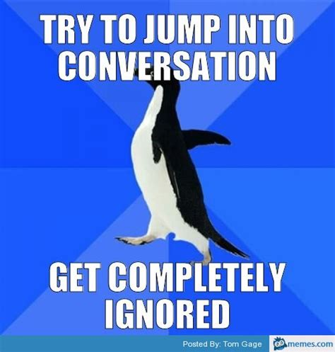 Meme Conversation - try to jump into a conversation memes com