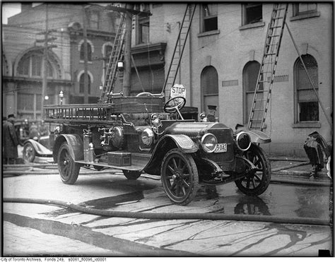 Alarm Motor Jarvis vintage truck photographs from toronto