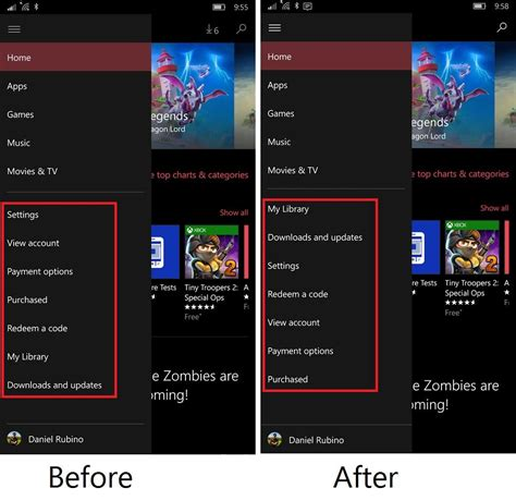 windows mobile store the store app for windows 10 and mobile gets updated with