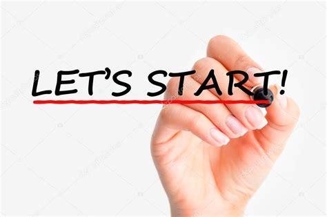 let s let s start stock photo 169 ai825 53328865