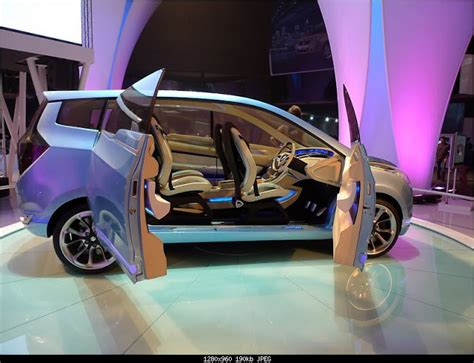 Maruti Suzuki R3 Arena Maruti Suzuki R3 Concept Car On Display At