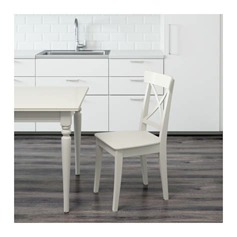 ikea ingolf bench ingolf chair white ikea